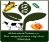 4th International Conference on Biotechnology Applications In Agriculture