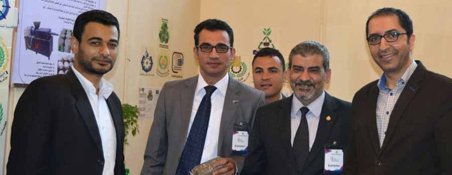 The Faculty of Agriculture participated with a research project at the Fourth Cairo International Innovation Exhibition